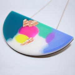 ELECTRO curve necklace