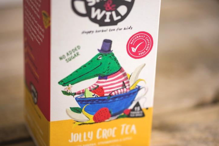Small & Wild - Children's Tea Branding Packaging 5