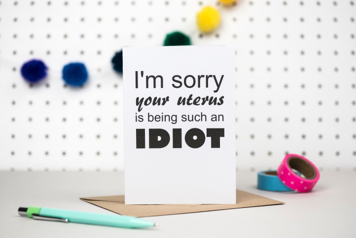 Idiot uterus card HB